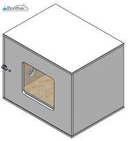 BOX DE ISOLAMENTO - CAIXA ACÚSTICA / CAIXA